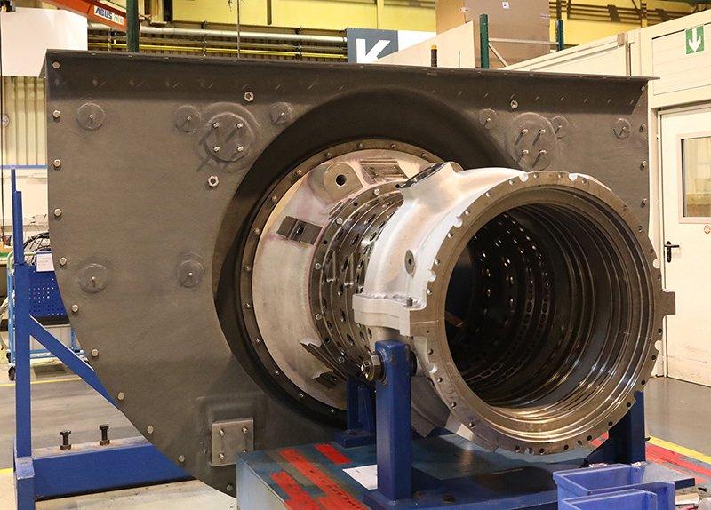 LZS MAN Lufteinlassgehäuse Turbine