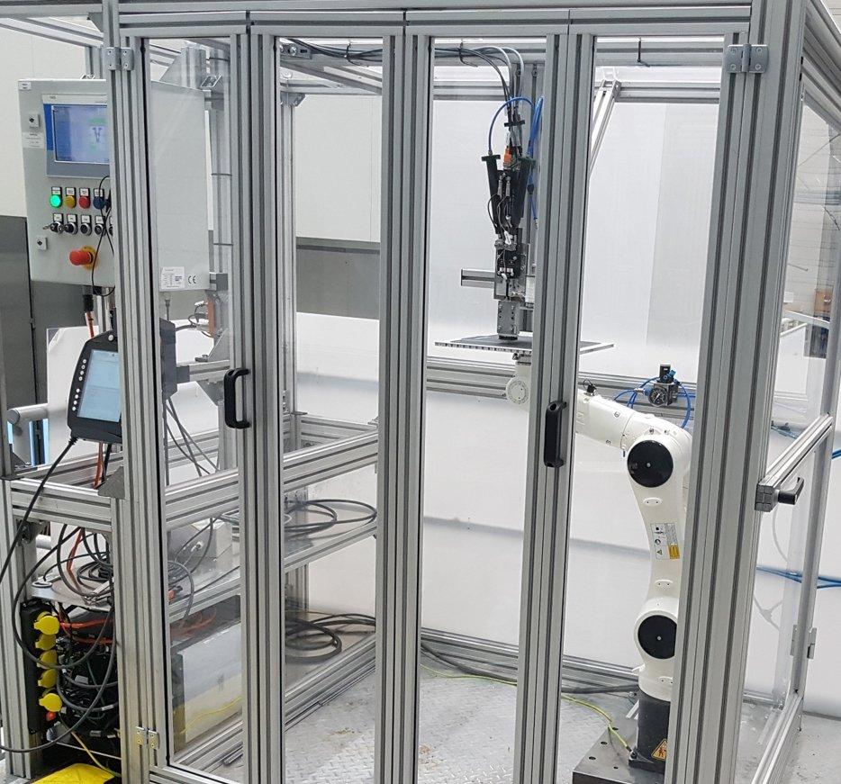 ILK Automatisierte Fertigungszelle